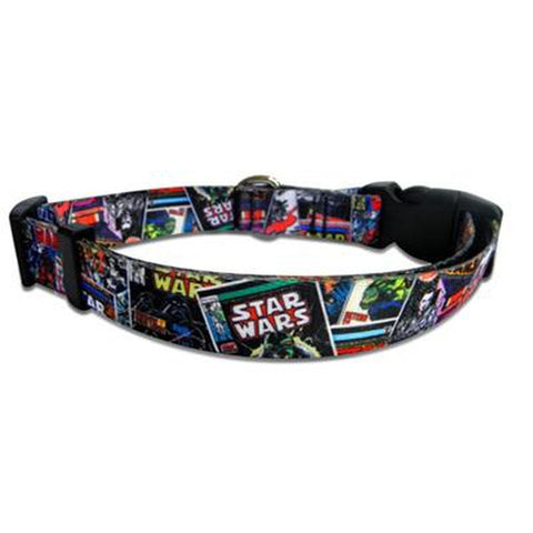 Star Wars Comics Dog Collar-DOG-Howard Keys Company-SMALL-Pets Go Here