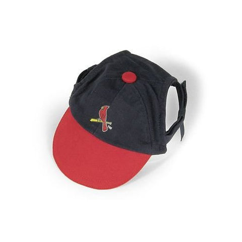 St. Louis Cardinals Dog Hat-DOG-Sporty K9-X-SMALL-Pets Go Here ball cap, dc, hat, m/l, mlb, s, sports, sports hat, sporty k9, xs Pets Go Here, petsgohere