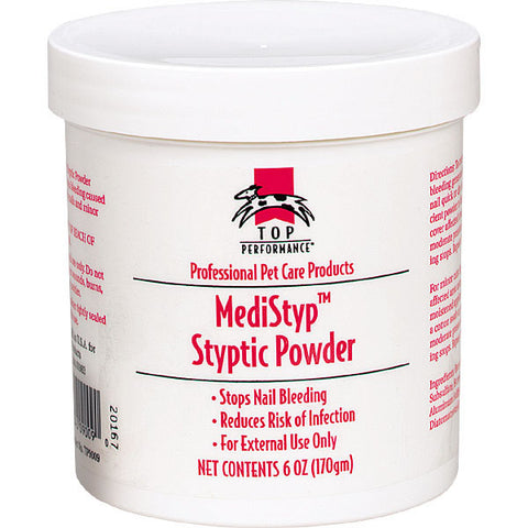 Top Performance Medistyp Styptic Powder-DOG-Top Performance-.5 Oz-Pets Go Here