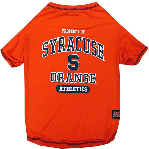 Syracuse Dog Shirt-DOG-Pets First-LARGE-Pets Go Here l, m, ncaa, pets first, s, sports, sports shirt, test, xl, xs Pets Go Here, petsgohere