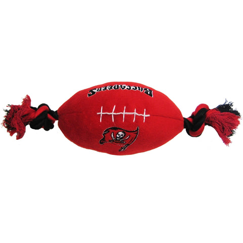 Tampa Bay Buccaneers Plush Dog Toy Football-DOG-Pets First-Pets Go Here