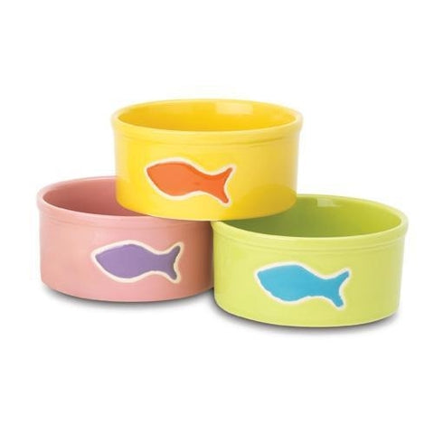 PetRageous TEENY Tiny Fish Water Bowls-DOG-PetRageous-Pets Go Here bowl, cat, dog bowl, petrageous, water Pets Go Here, petsgohere