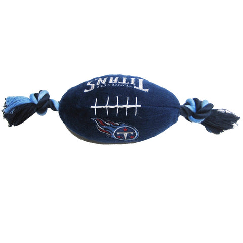 Tennessee Titans Plush Dog Toy Football-DOG-Pets First-Pets Go Here doggienation, ds, pets first, sports, sports toys Pets Go Here, petsgohere