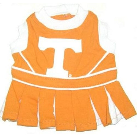 Tennessee Volunteers Dog Cheerleading Uniform Dress-DOG-Pets First-Pets Go Here costume, dog, dog dress, ncaa, pets first, sports, uniform Pets Go Here, petsgohere
