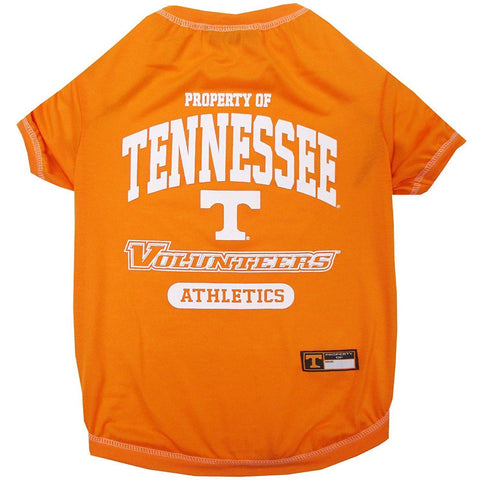 Tennessee Volunteers Dog Shirt-DOG-Pets First-X-SMALL-Pets Go Here l, m, ncaa, pets first, s, sports, sports shirt, xl, xs Pets Go Here, petsgohere