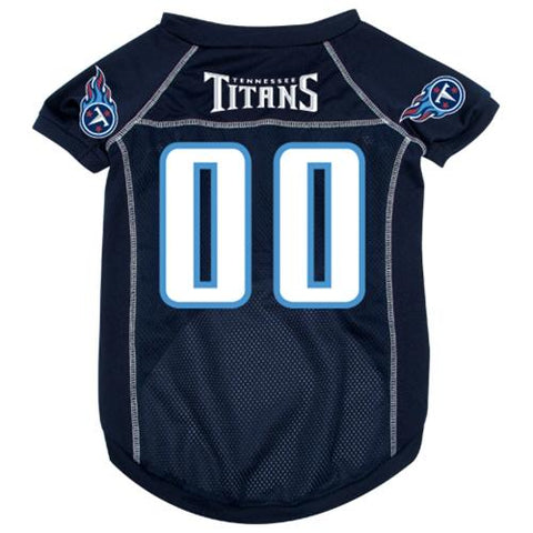 Tennessee Titans Dog Jersey 2-DOG-Hunter-LARGE-Pets Go Here