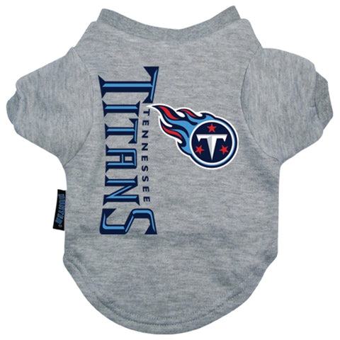 Tennessee Titans Dog Shirt-DOG-Hunter-X-LARGE-Pets Go Here gray, hunter, l, m, mlb, nfl, s, sports, sports shirt, xl, xs Pets Go Here, petsgohere