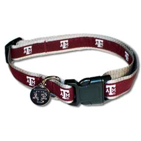 Texas A&M Embroidered Dog Collar-DOG-Hunter-Pets Go Here