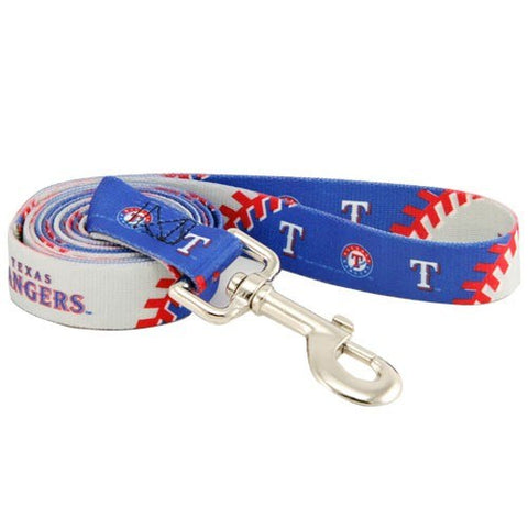 Texas Rangers Dog Leash-DOG-Hunter-Pets Go Here
