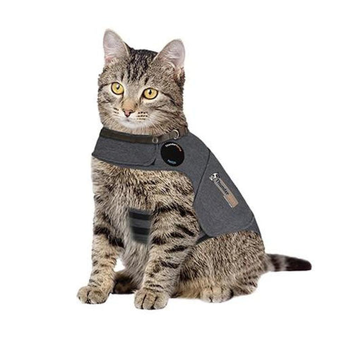 Thundershirt for Cats-CAT-Pets Go Here-SMALL-Pets Go Here anxiety, calming, cat, first aid, health, pet meds, shirt, supplement, thundershirt Pets Go Here, petsgohere