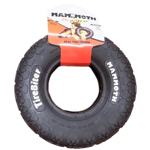 Mammoth Tirebiter II Dog Chew Toy L 6""