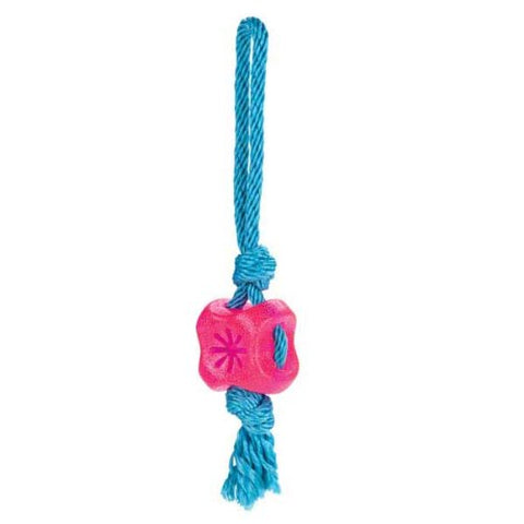 Grriggles FUNdamentals Treat Tug Dog Toy