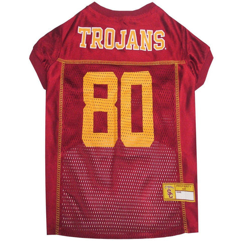 USC Trojans Dog Jersey-DOG-Pets First-LARGE-Pets Go Here l, m, ncaa, ncaa jersey, pets first, s, test, xl, xs Pets Go Here, petsgohere