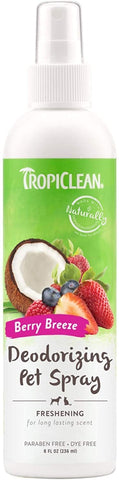 Tropiclean Deodorizing Pet Spray Berry Breeze Berry Breeze