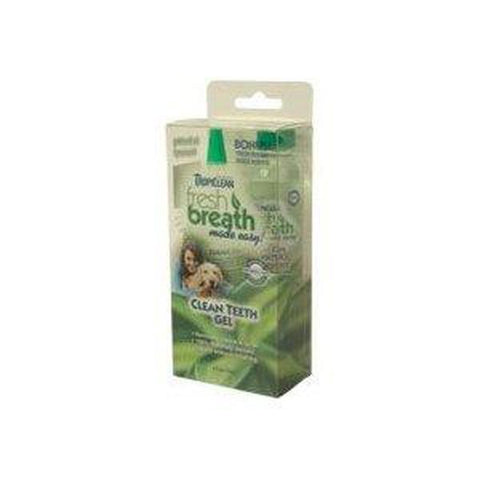 Tropiclean Clean Teeth Gel Kit-DOG-Tropiclean-Pets Go Here pet meds, pet oral care, tropiclean Pets Go Here, petsgohere