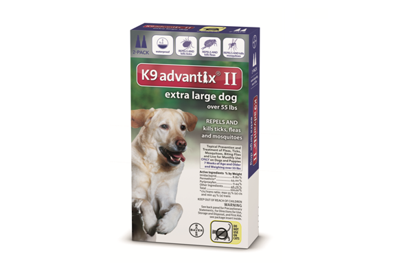 K9 Advantix for Dogs over 55 Lbs