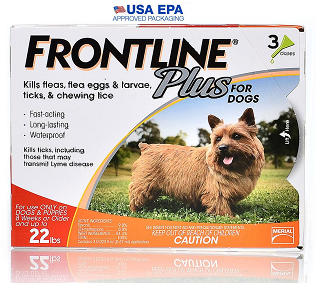 Frontline Plus for Dogs 5 - 22 lbs