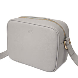 Pebble Rebel Crossbody Bag in Grey