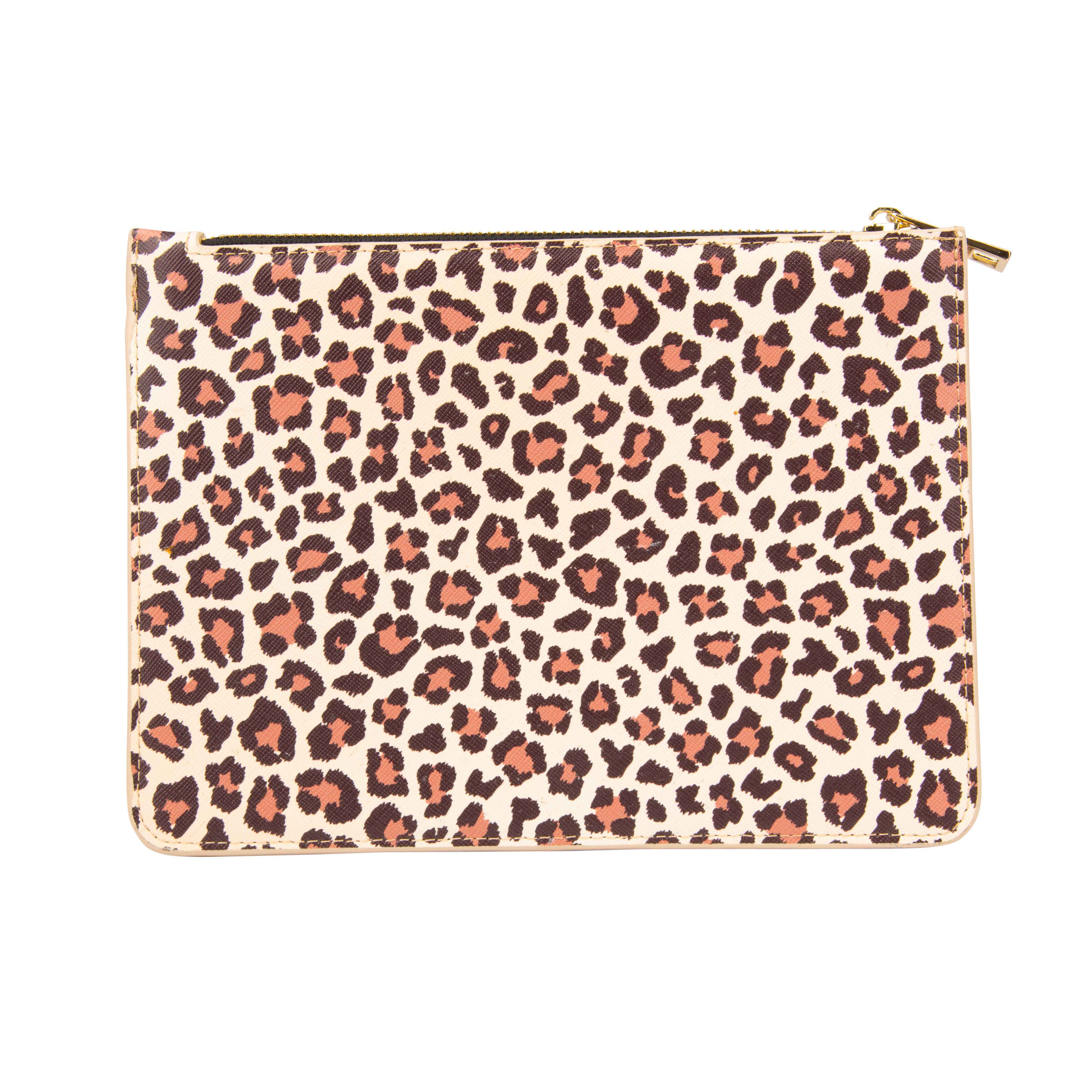 Leopard Print Stand-Up Pouch