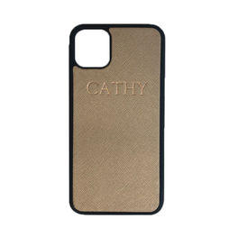iPhone 11 Pro Max Phone Case in Gold