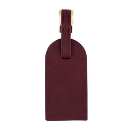In Transit Luggage Tag in Burgundy