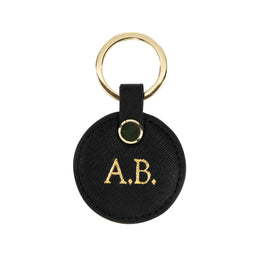 PRE-ORDER - The Low-Key Round Keyring in Black