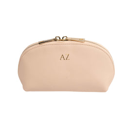 Mini Cosmetics Case in Blush Pink