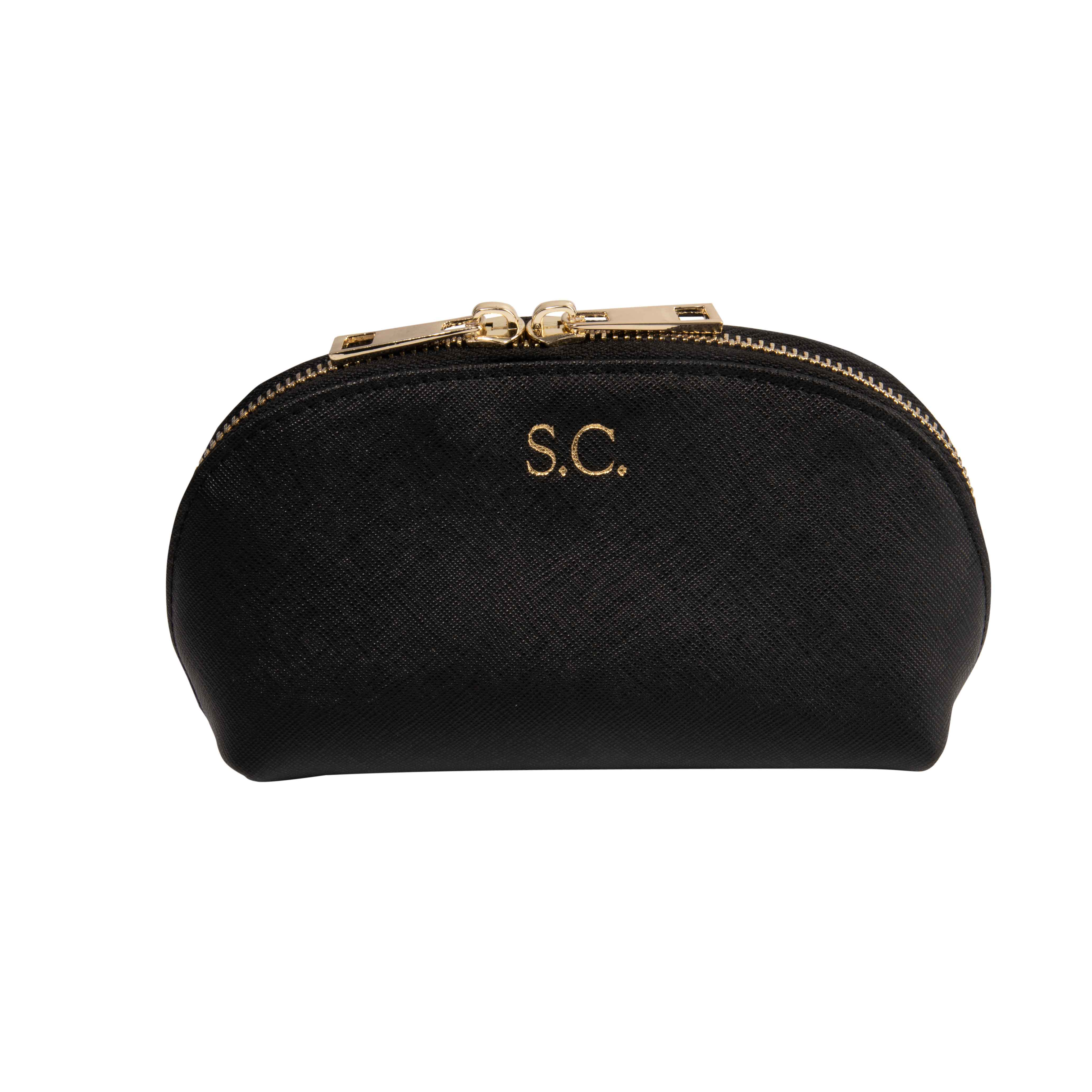 Mini Cosmetic Case in Black