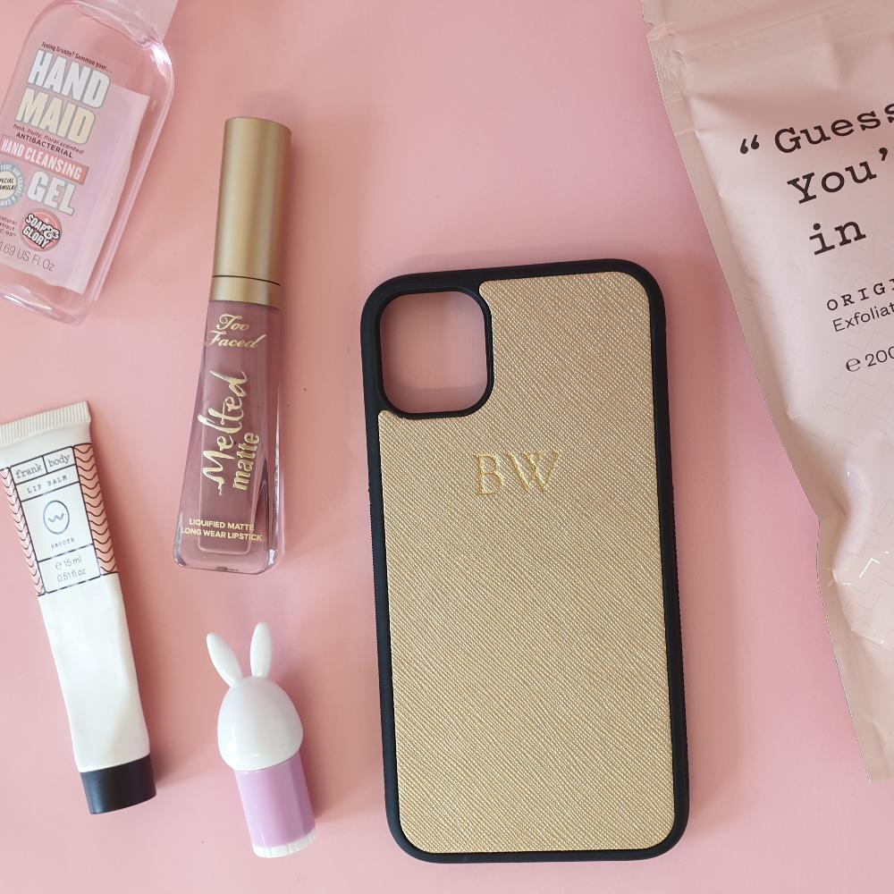 iPhone 11 Phone Case in Gold