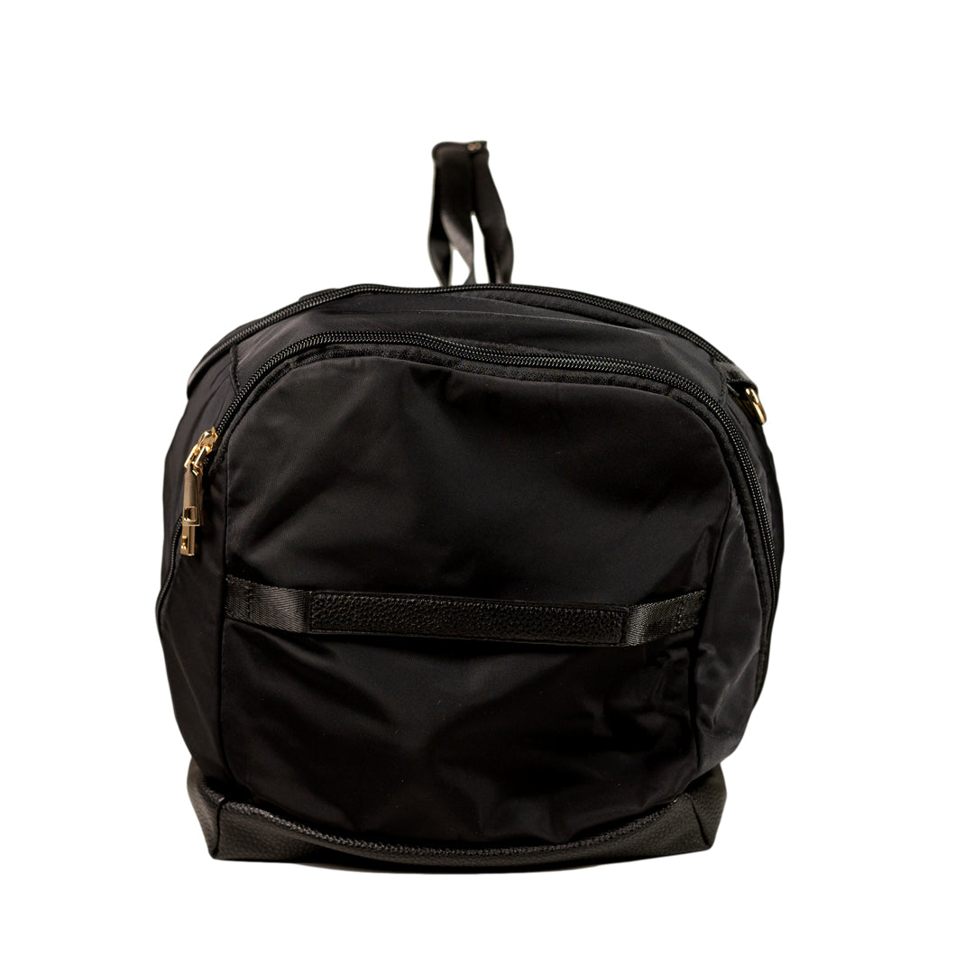 Mon Purse Nylon Training Bag in Black (Gold)