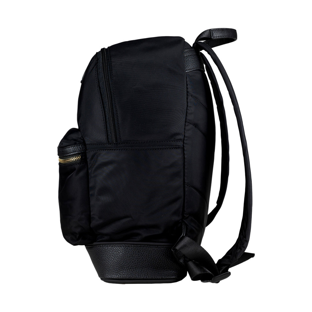 Mon Purse Nylon Bailey Backpack in Black