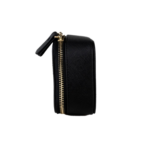 Give Me a Ring Jewellery Case in Black (Gold)
