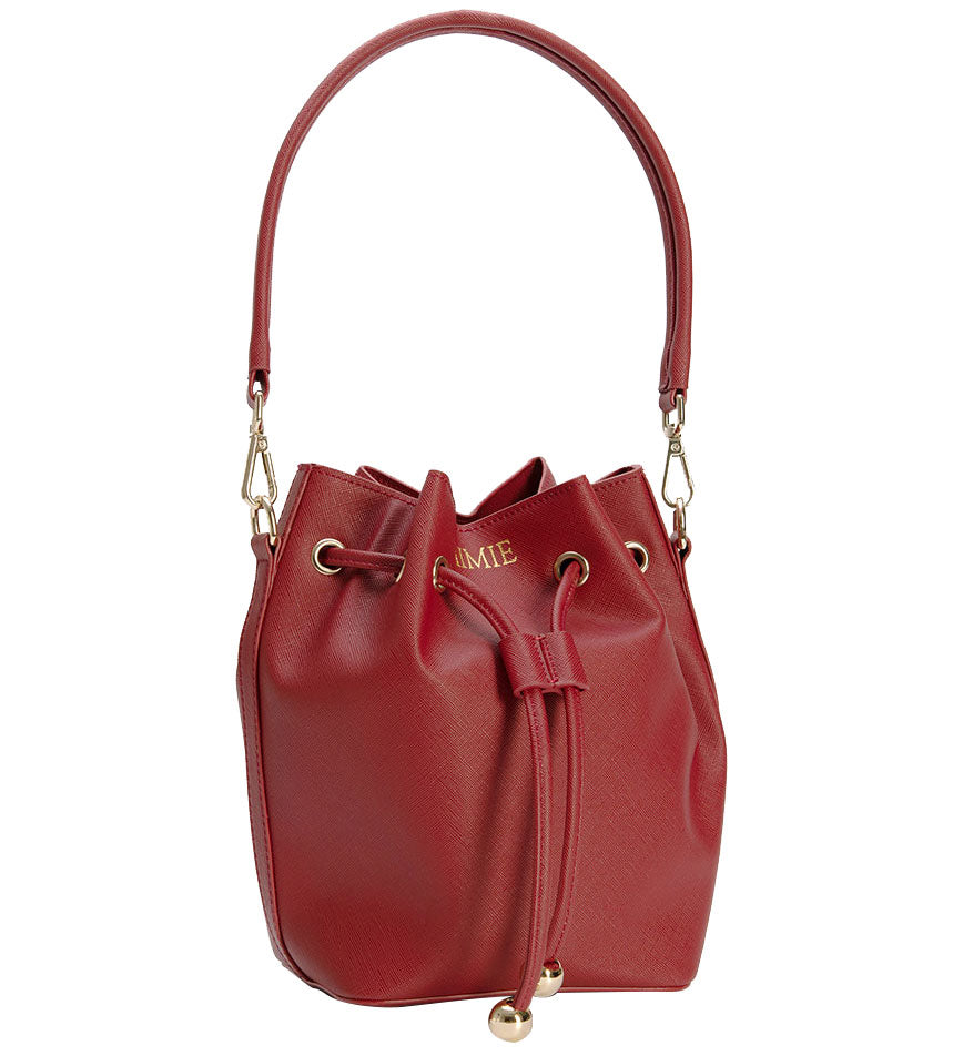 Bucket Bag Mini in Red