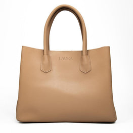 The Hero Bag in Taupe