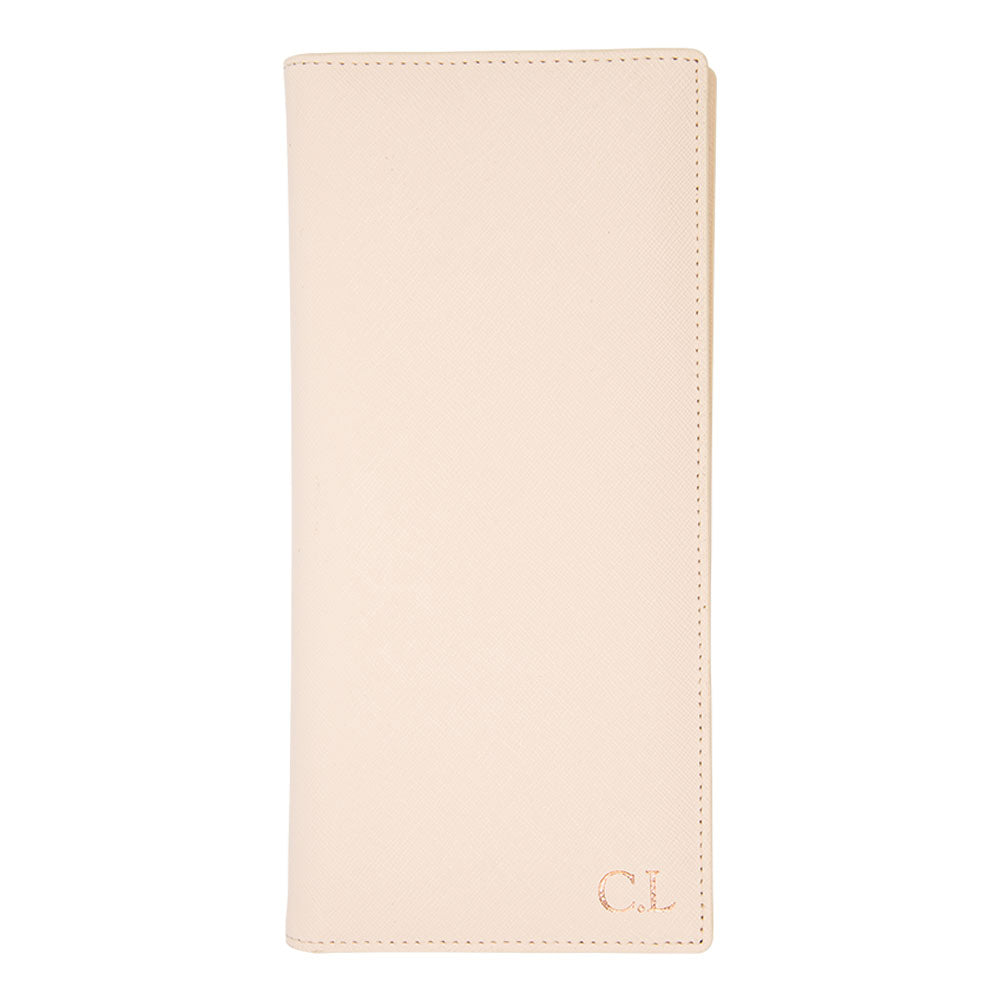 Jetsetter Long Passport Holder in Pale Pink