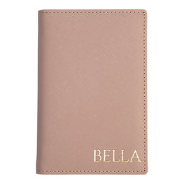 Passport Holder in Taupe