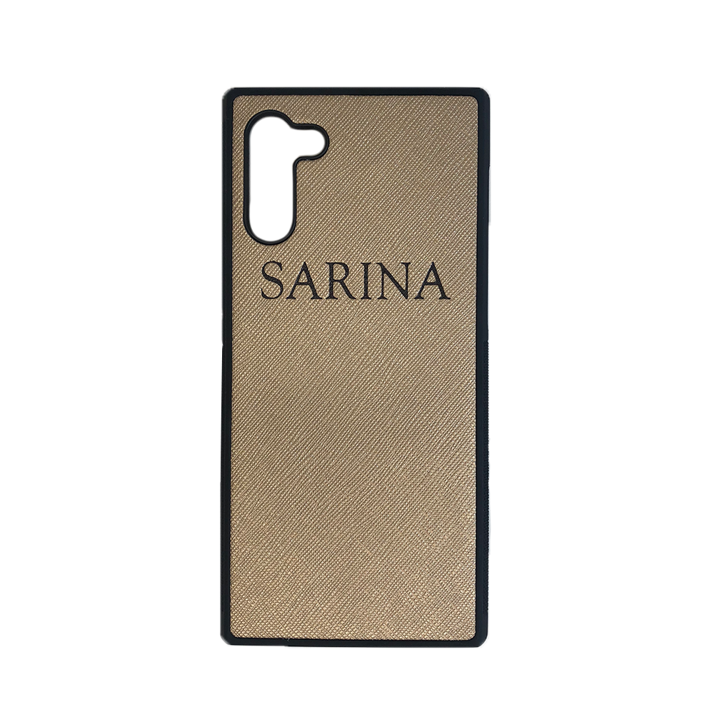 Samsung Galaxy Note 10 Phone Case in Gold