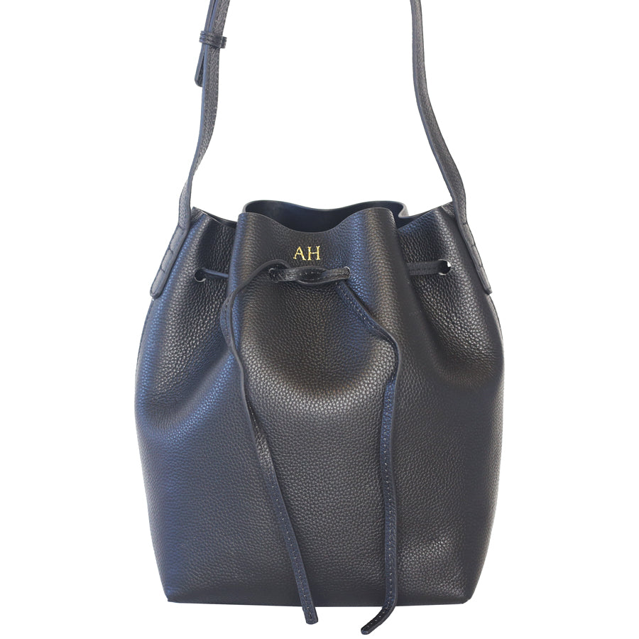 Pebbled Leather Bucket Bag (LIMITED EDITION)