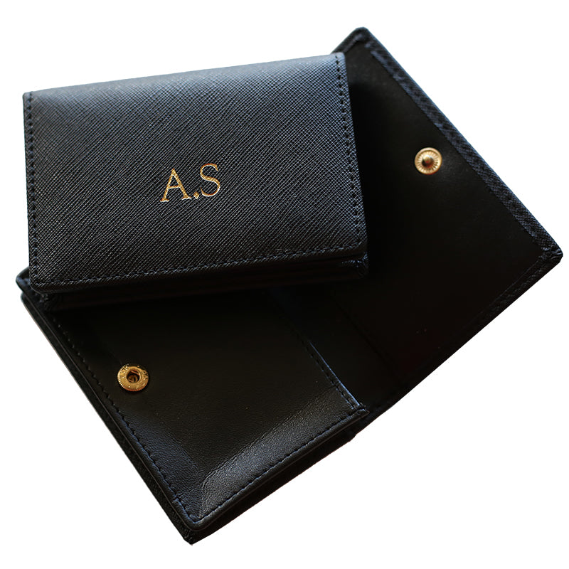 Business Card Holder in Black