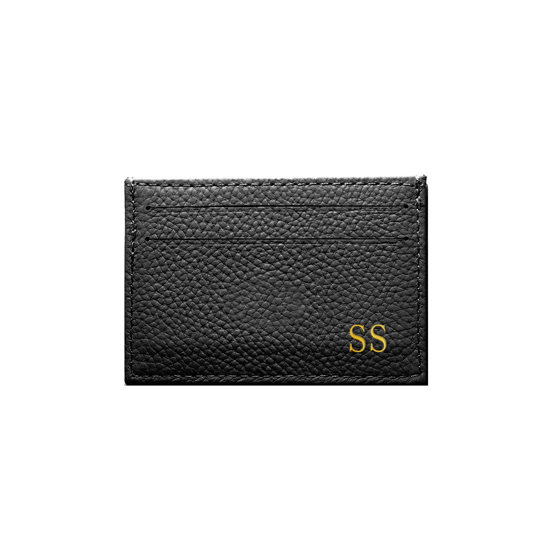Mon Purse Card Holder in Black