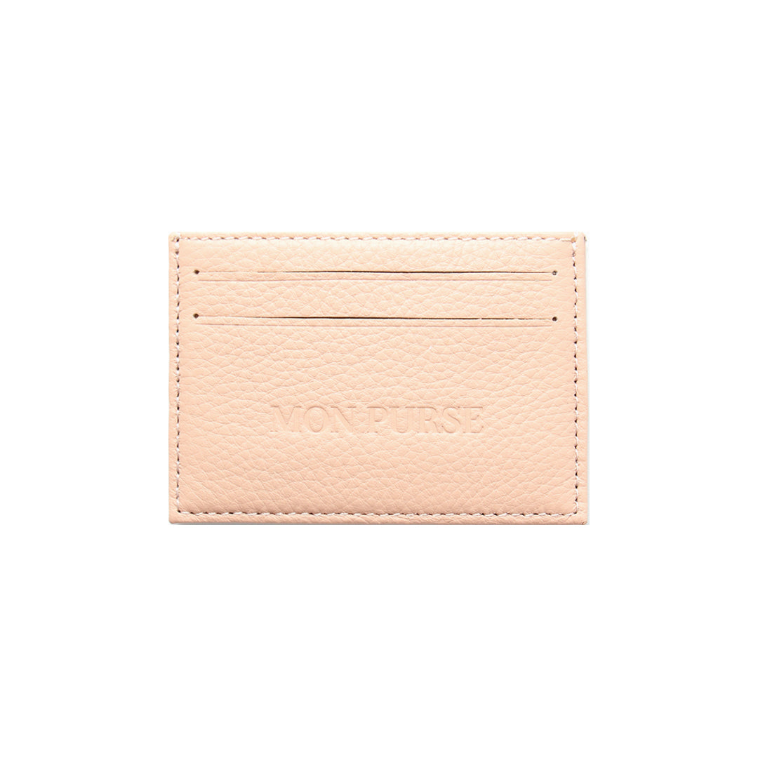 Mon Purse Card Holder in Blush