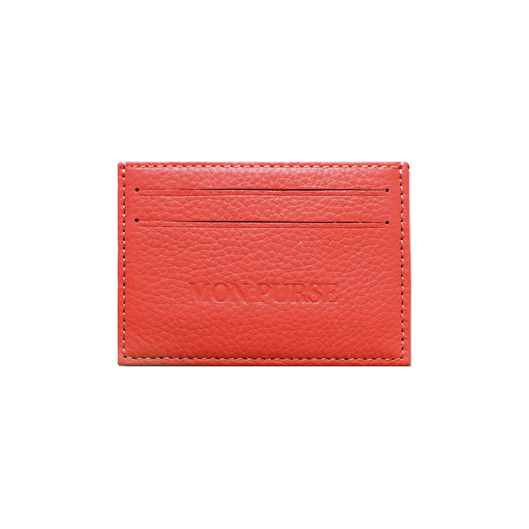 Mon Purse Card Holder in Red