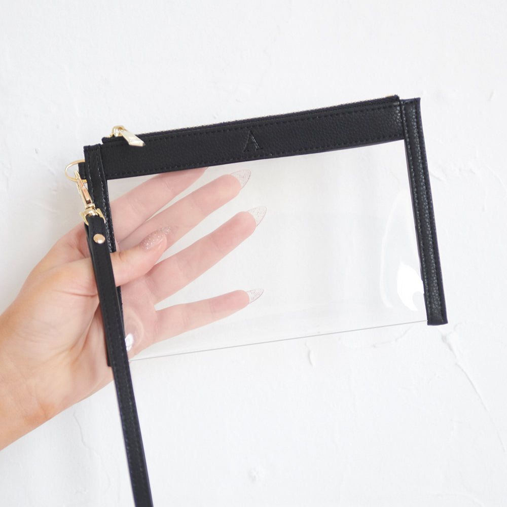 See Right Through Me - Clear Pouch