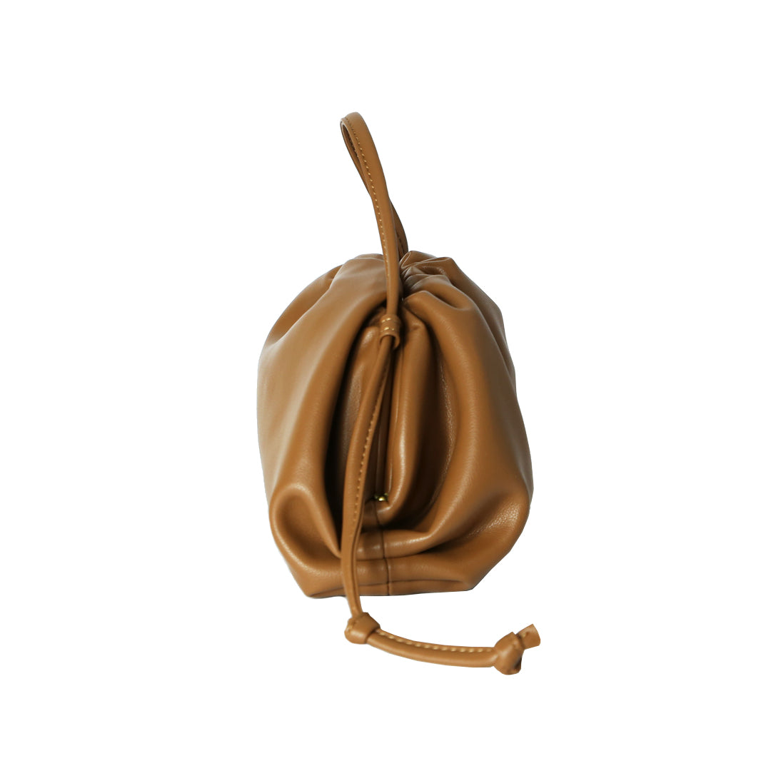 Mini Cloud Bag in Tan
