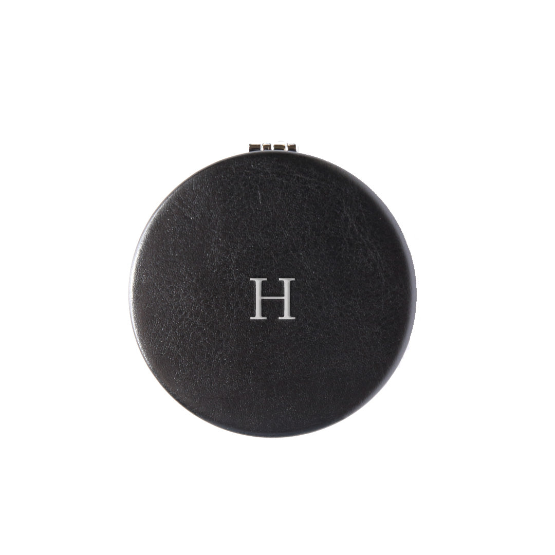 Compact Mirror in Black