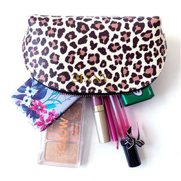 Leopard Print Mini Cosmetics Case