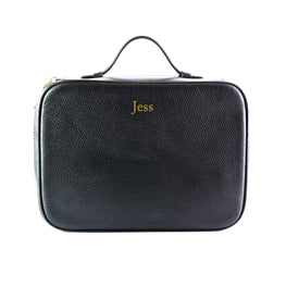 Mon Purse Cosmetic Wash Bag in Black