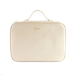 Mon Purse Cosmetic Case Wash Bag in Stone