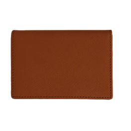 Business Card Holder in Tan