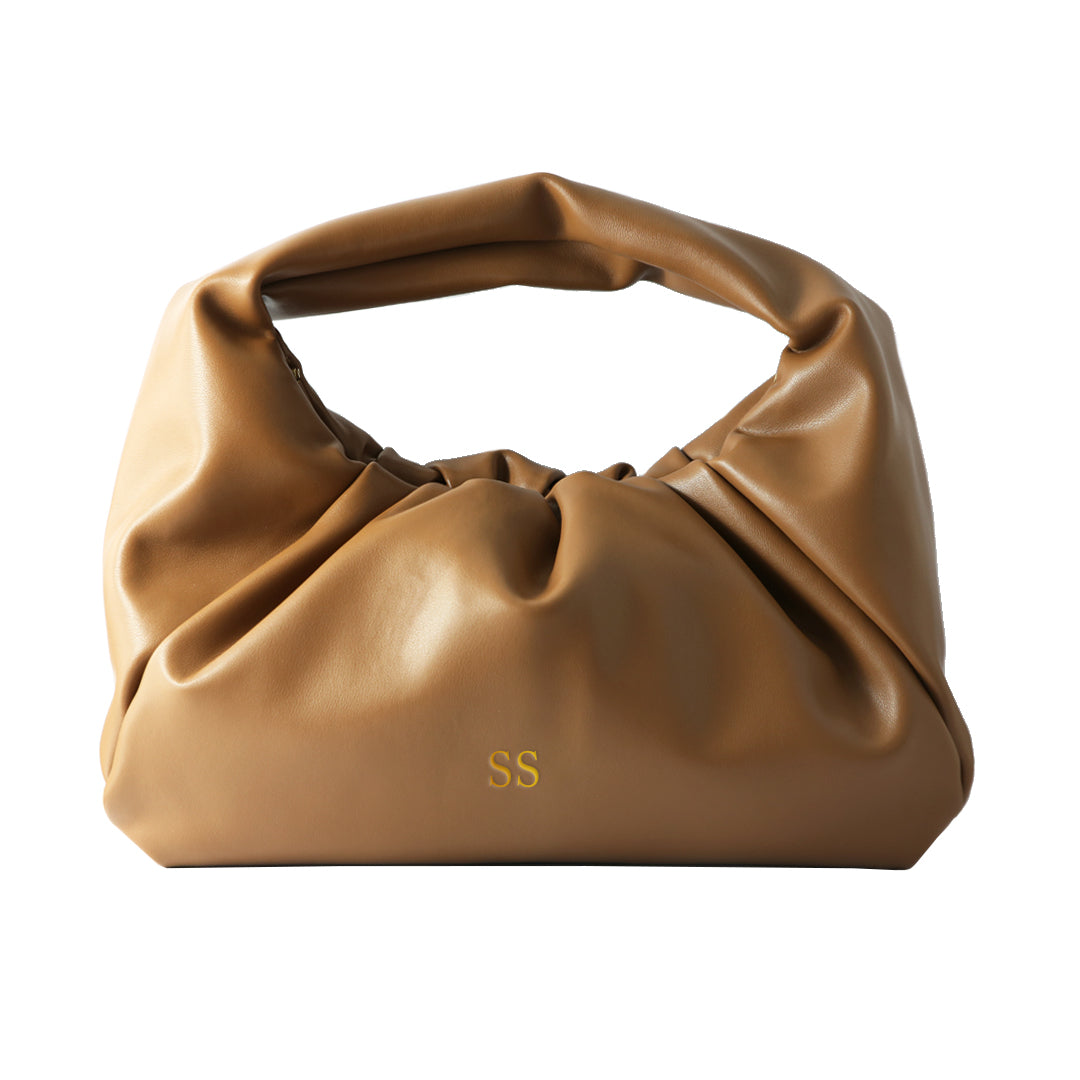 Keep Me in the Loop Hobo Bag in Tan